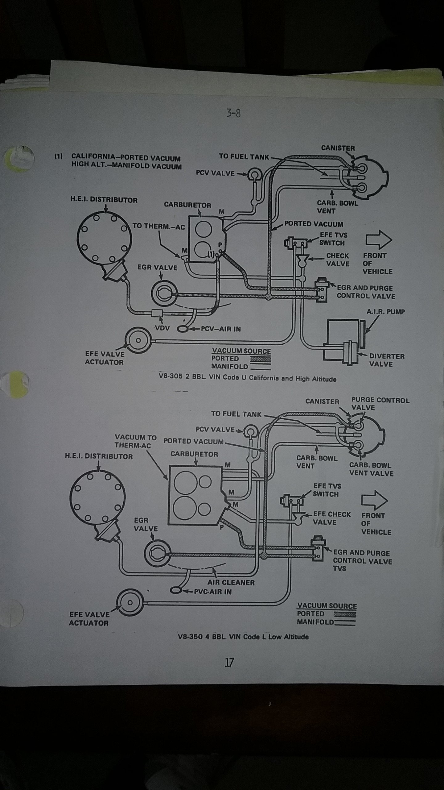 Engine Vacuum Diagram Gbodyforum 78 88 General Motors A G Body Community
