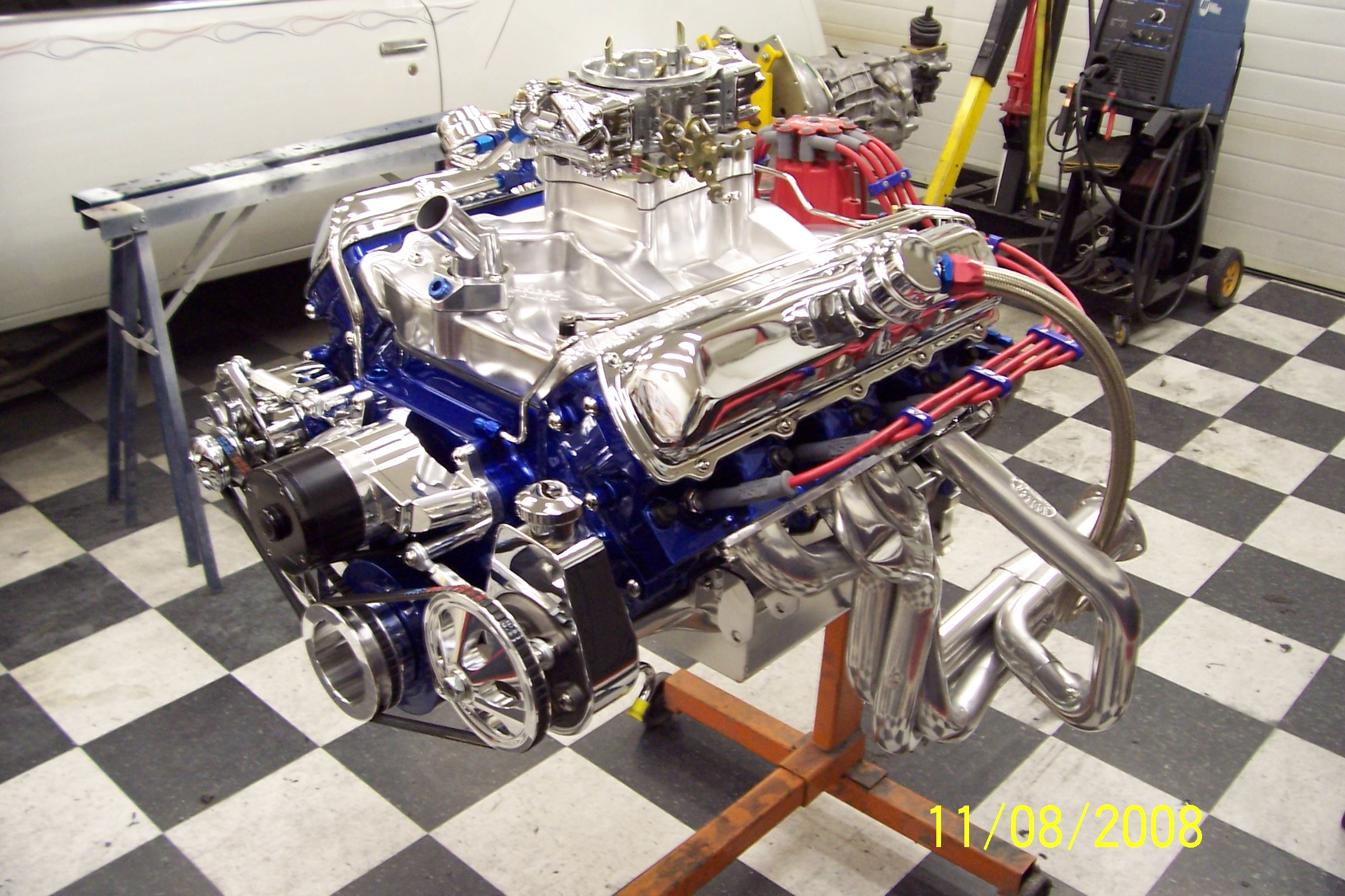 455 Assembled on stand (2).JPG
