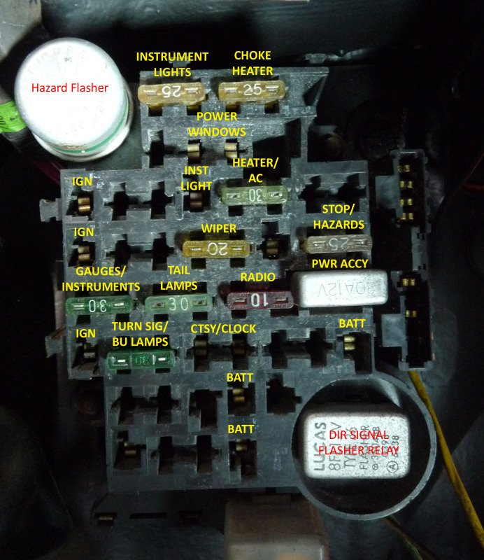 [DIAGRAM_09CH]  Switched 12v | GBodyForum - '78-'88 General Motors A/G-Body Community | 1983 Malibu Fuse Box |  | GBodyForum