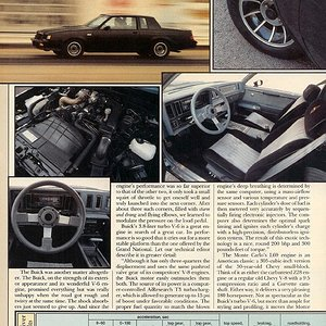 Modern Muscle (p.6) - Monte Carlo SS, Buick Grand National, Olds 442