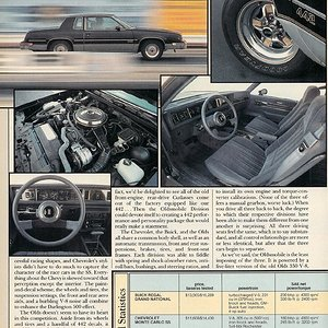 Modern Muscle (p.4) - Monte Carlo SS, Buick Grand National, Olds 442