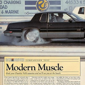 Modern Muscle (p.2) - Monte Carlo SS, Buick Grand National, Olds 442