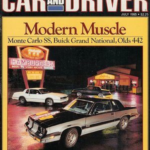 Modern Muscle (p.1) - Monte Carlo SS, Buick Grand National, Olds 442