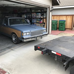 CaliWagon83's 1983 Buick Regal Wagon unloading Orange County