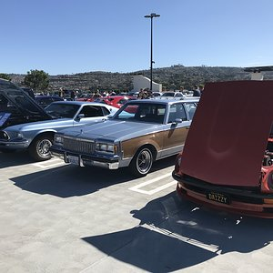 CaliWagon83's '83 Buick Regal Wagon at South OC Cars & Coffee