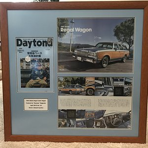 CaliWagon83's Daytona Magazine Feature Framed