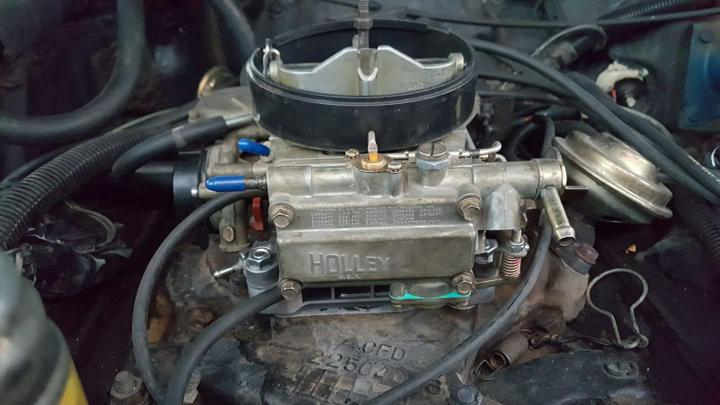 Holley 4160