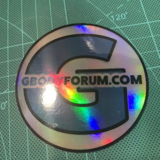 "3"" GBodyForum Holo Sticker"